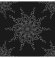 Retro stylish winter background hand-drawn vector image vector image