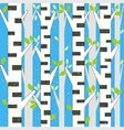 background spring birch vector image
