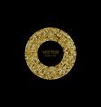 shine gold luxury background vector image