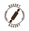 bakery seal product vector image