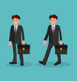 character office worker or a businessman a man in vector image