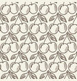 cherry branches hand drawn seamless pattern vector image vector image