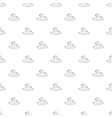duck pattern seamless vector image