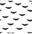 halloween bat seamless pattern holiday halloween vector image