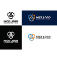 logo construction industry vector image vector image