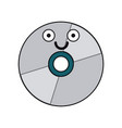 cd icon image vector image vector image