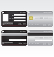 Credit card and id card vector | Price: 1 Credit (USD $1)
