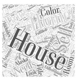 Differentiate in house buying the wants and the vector image vector image