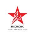 digital star rating logo design data vector image vector image