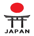 Japan sign2 resize vector image