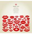 Lips8 vector image