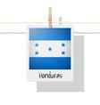 photo of honduras flag vector image