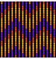 Seamless geometric pattern zigzag vector image