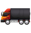 A luggage truck vector image vector image