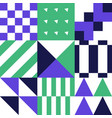 abstract geometric banner seamless geometric vector image vector image