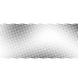 abstract halftone gradient background monochrome vector image vector image