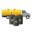cargo truck concept 06 vector image vector image