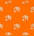 eye of horus egypt deity pattern seamless vector image vector image
