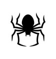 halloween spider icon vector image vector image