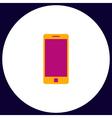 Mobile gadget computer symbol vector image vector image
