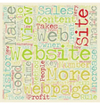 OG web traffic 19 text background wordcloud vector image vector image