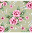 Rose roses pattern vector image vector image
