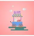 Sweet shop Wagon vector image vector image