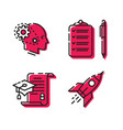 various icons set icons 4 amazing icons for vector image vector image