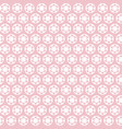 abstract creative seamless pattern with flowers vector image