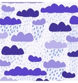 Cloud white background vector image vector image