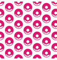 donut pattern background vector image