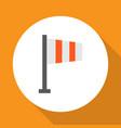 flag icon flat symbol premium quality isolated vector image