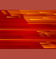 geometric red color abstract background eps 10 vector image