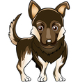 German shepherd dog vector image vector image