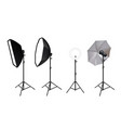 Realistic spotlights photo video accessories for