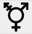 transgender symbol vector image vector image