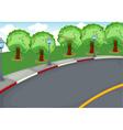 a road vector image vector image