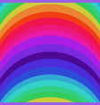 abstract striped rainbow seamless pattern vector image