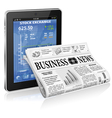 Business and News Concept vector image vector image