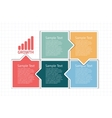 business design template vector image vector image
