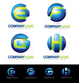 Letter Logo Designs vector image vector image