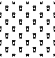 Paper cup of coffee or tea pattern simple style vector image vector image