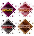 Set modern icon design logo element with business