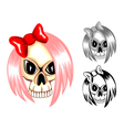 Skull emo vector | Price: 1 Credit (USD $1)
