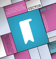 bookmark icon sign Modern flat style for your vector image vector image