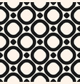 circles seamless pattern black and white texture vector image vector image