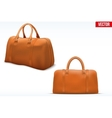 Classic Leather Bag Set vector image vector image