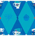 Coffee Cup Seamless Pattern vector image vector image