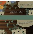 Fabulous happy birthday card in vector image vector image