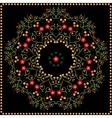 Floral background floral pattern vector image vector image